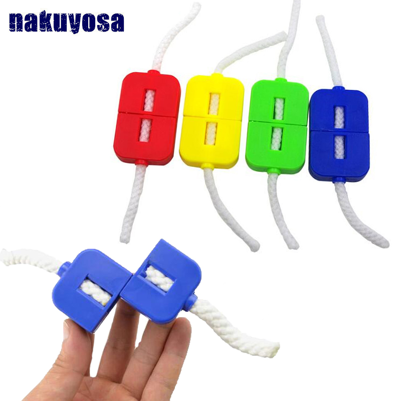 2019 Newest Broken Rope Restoration Close-up Magic Trick Children Puzzle Novelty Magic Prop Toy Gift Easy To Operate