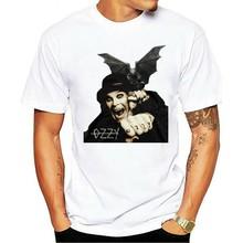 2021 Leisure Fashion 100% Cotton T-shirt OZZY OSBOURNE Gargoyle Bat Men