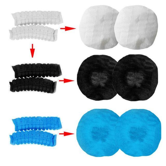 Купить 2020 популярные одноразовые чехлы для наушников нетканые гигиенические картинки цена