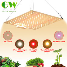 Samsung LM281B Quantum LED Grow Light UV&IR Chip 600W Full Spectrum Phyto Lamp for Indoor Plants Veg Flowers Hydroponics System