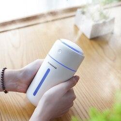 Batterie Drahtlose luftbefeuchter beseitigen statische elektrizität saubere luft Pflege für Nano spray technologie design auto büro diffusor
