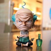 Anime One Piece Roronoa Zoro Old Man Ver PVC Action Figure Collectible Model doll toy 14cm one piece brinquedos meninos onepiece zoro pvc action figure collectible toys for kid boy