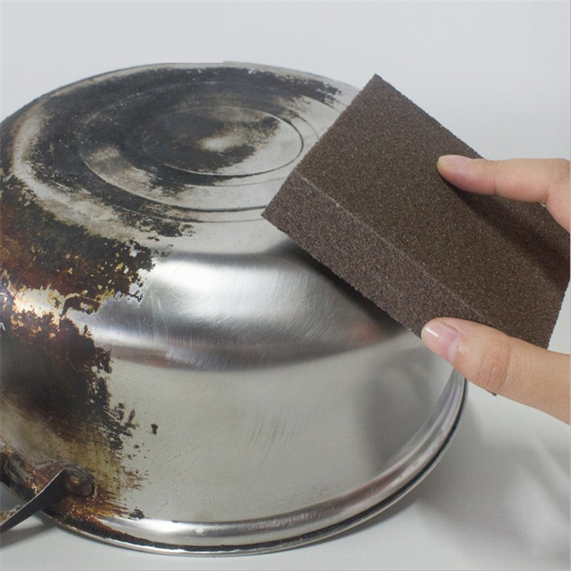 Губка волшебная ластик для удаления ржавчины очистка хлопок Кухонные гаджеты очистка от накипи очищающий горшок Кухонные гаджеты и аксесс...