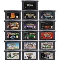 Картридж для видеоигр 32 бит, картридж для консоли Nintendo GBA Pokeon серии Clover Cawps Eclipse коросу, версия на английском языке