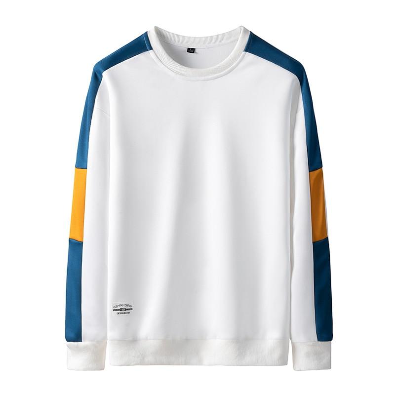Sweatshirt Men Sportwear Long Sleeve Hoodie Men Casual Hip Hop Sweatshirt Streetwear Solid Men Hoodies 21