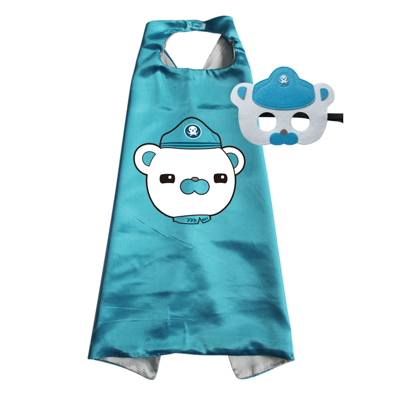 Childrens Capes Octonauts Toddler Halloween Costumes Costumes Cape With Mask For Kwazii Barnacles Dashi Peso Cosplay