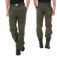 Allies 101 Airborne Division field survival army pants Army fans mens and womens camouflage outdoor climbing