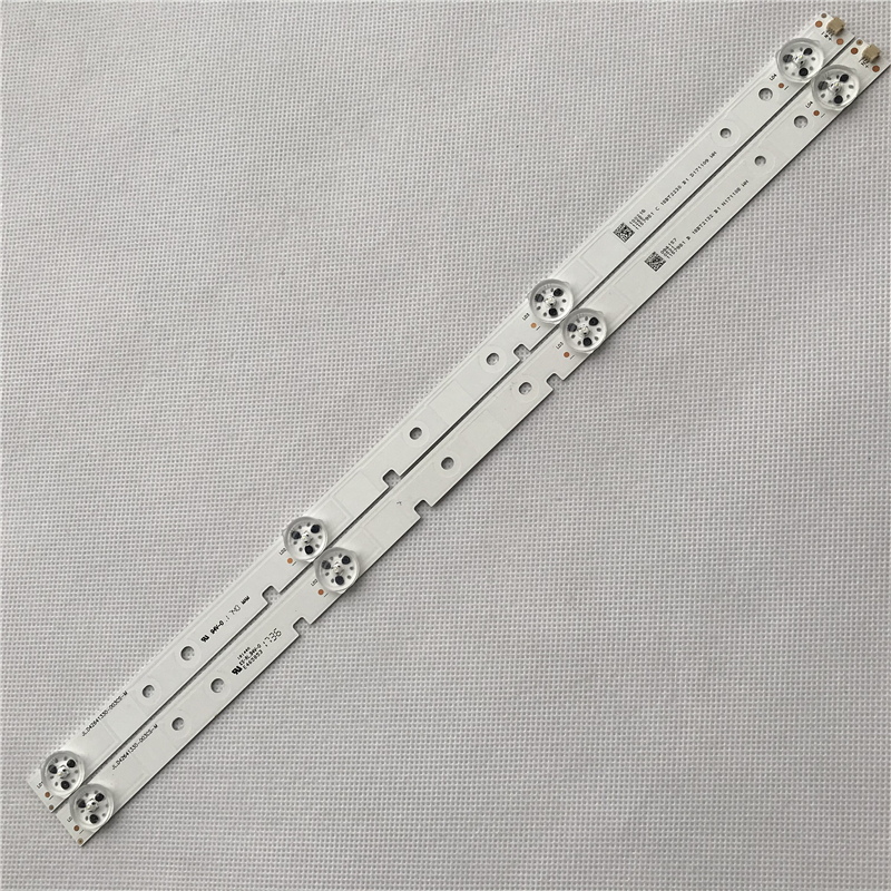 Wholesale 70PCS 403mm LED Backlight Strip 4 Lamp For Hisense 43 Inch TV JL.D42641330-003CS-M LED43K3100 Tv Parts
