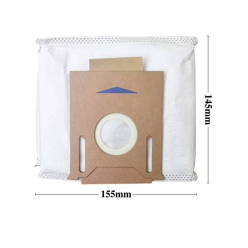10PCS for ECOVACS DEEBOT OZMO T8 T8 AIVI Robot Vacuum Cleaner Dust Bag Replace
