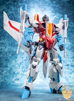 In Stock TT Transformation PF-01 Red Falcon PF01 Starscream Red Spider Model Action Figure With Box [show z store] zeta za 01 take off armeggedon combiner combaticons bruticus transformation action figure