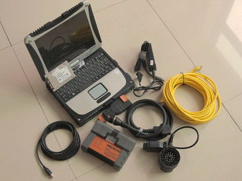 2020 for bmw icom a2 with ssd super expert mode software with laptop cf19 touch screen ready to use diagnostic-tool