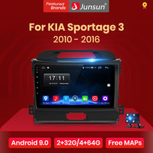 Junsun V1 2G+32G Android 9.0 DSP Car Radio Multimedia Video Player Navigation GPS 2 din For KIA Sportage 3 2010 2011-2016 no dvd(China)