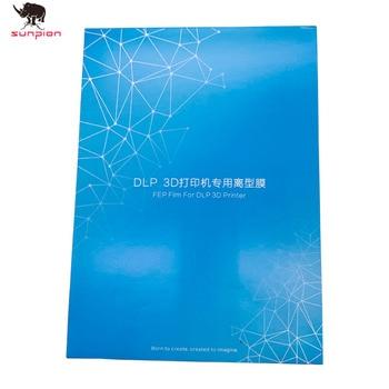 PHOTON SLA 3d printer filamen FEP Film 140x200mm Fep Sheets 0.15-0.2mm for ANYCUBIC Photon Resin UV Light 3D Printers Impresora