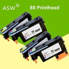 ASW – têtes d'impression pour imprimante HP 88, 2 jeux de 4pk, C9381A C9382A pour HP PRO K550 K8600 K8500 K5300 K5400 L7380 L7580 L7590