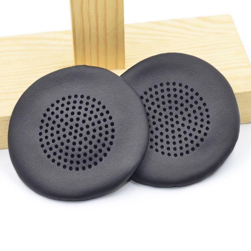 1Pair Leather Ear Pads Ear Cushion Cover Earpads For PLANTRONICS BLACKWIRE C510 C520 C710 C720 Headphones