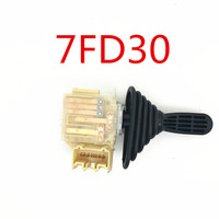 Supply Home made Domestic New Style Black 7 Plug Gear Switch for TOYOTA 7FD30 Electric Forklifts