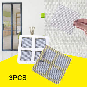 Mosquito-Net Door-Patch Repairing-Paste Mesh Window Summer 3pcs Polyurethane Universal