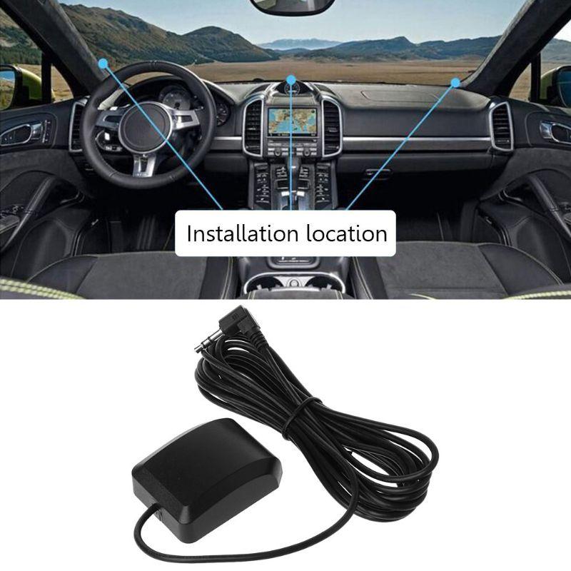 Car DVR Recorder GPS Navigation Accessories External Antenna Module 3.5mm Plug W91F