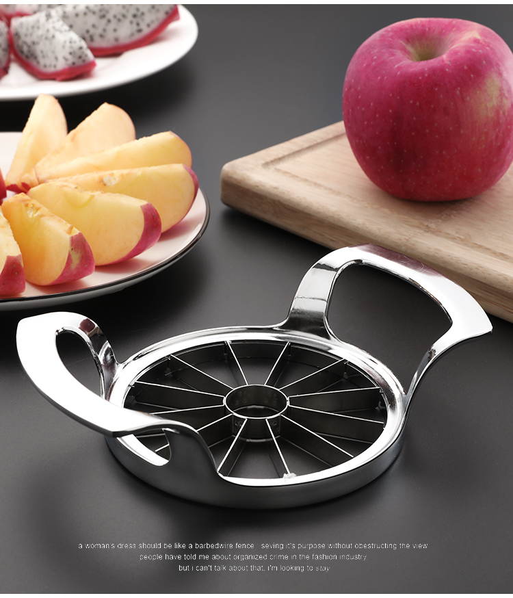 Abay Kitchen Gadgets Kitchen Accessories Stainless Steel Apple Cutter Slicer Vegetable Fruit Tools Apple Easy Cut Slicer Cutter