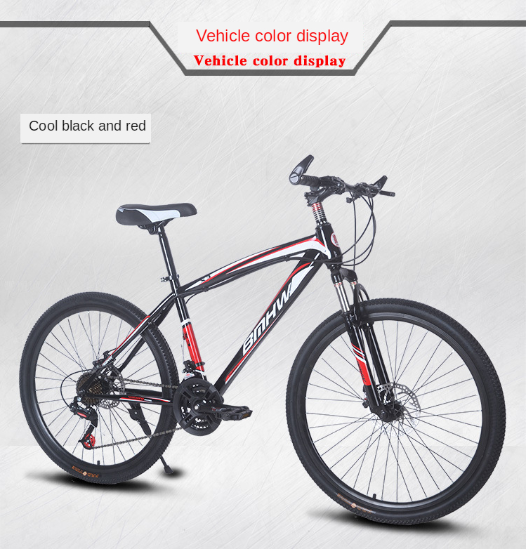 não dobrável mountain bike freio a disco duplo