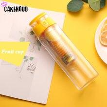 Спортивная бутылка для воды Новая креативная фруктов с фильтром