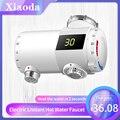 Xiaoda Elektrische Durchlauferhitzer Wasserhahn Tap Küche Wasserhahn Heizung Temperatur Kalt Warm Einstellbare Wasserhahn Smart Home