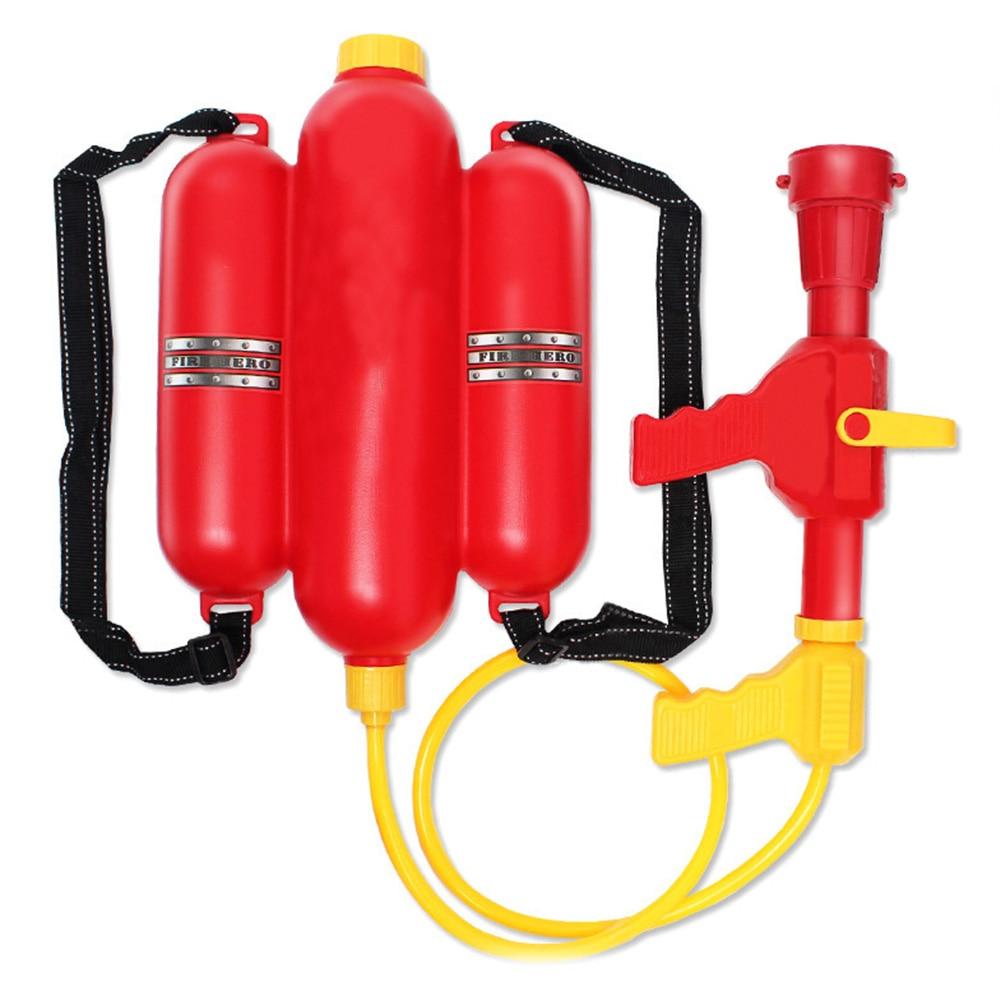 Fireman Toys Backpack Fireman Toy Water Gun Sprayer For Children Kids Summer Toy Gun Party Favors J74