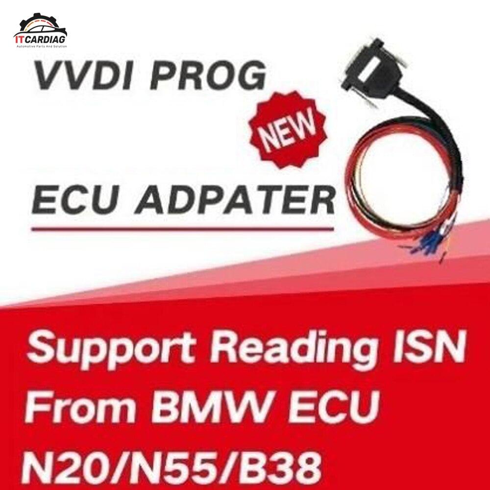 Xhorse VVDI Prog pour adaptateur Bosch lu pour BMW ECU N20 N55 B38 n'est sans ouverture va libérer plus de types ECU dans la fonctionnalité