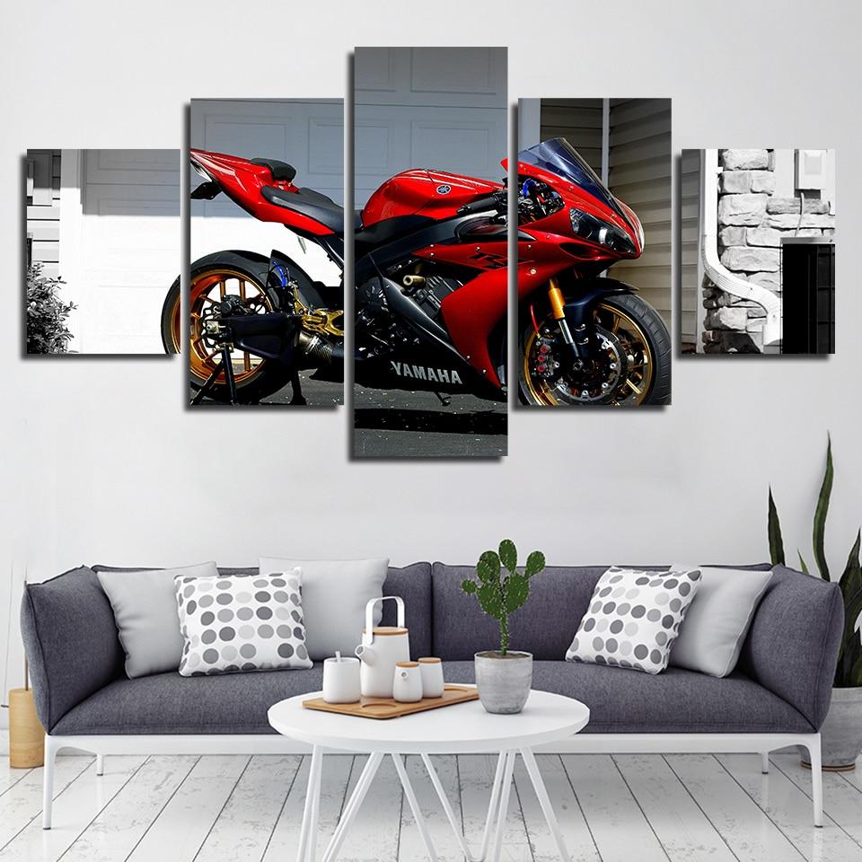 Toile moto Yamaha