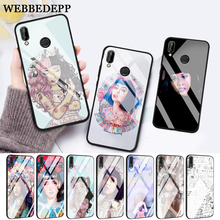 WEBBEDEPP Melanie Martinez Glass Case for Huawei P10 lite P20 Pro P30 P Smart honor 7A 8X 9 10 Y6 Mate 20