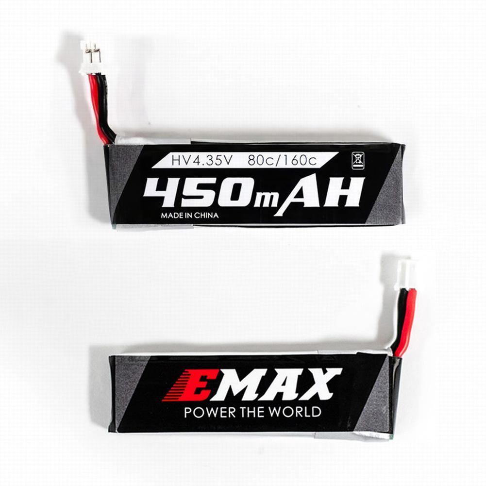 Portable HV 4.35V 450mAh Lipo Battery For EMAX Tinyhawk FPV Racing Drone Part
