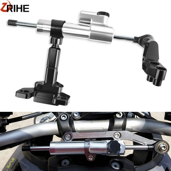 FOR YAMAHA YZFR3 YZFR25 2014 2015 2016 2017 Motorcycle Steering Stabilizer Damper With Bracket Linear Reversed Safety Control