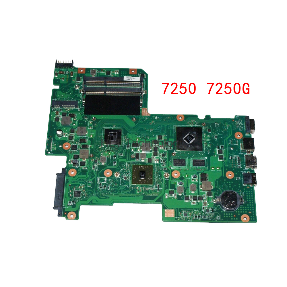 HOLYTIME Laptop Motherboard For ACER Aspire 7250 7250G AAB70 08N1-0NW3G00 E350 CPU HD6470 DDR3 100% Tested Fully Work