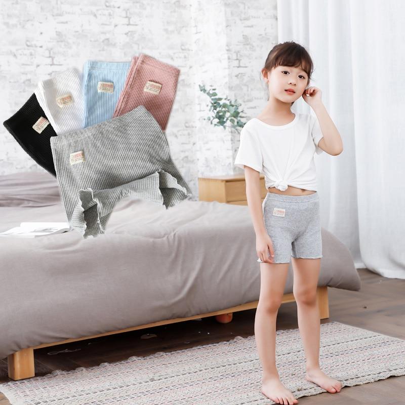 2019 Teenage Girls Underwear Boxers Cotton Panties For Girls Casual Shorts Briefs Children Underpants трусы для девочек 100-160