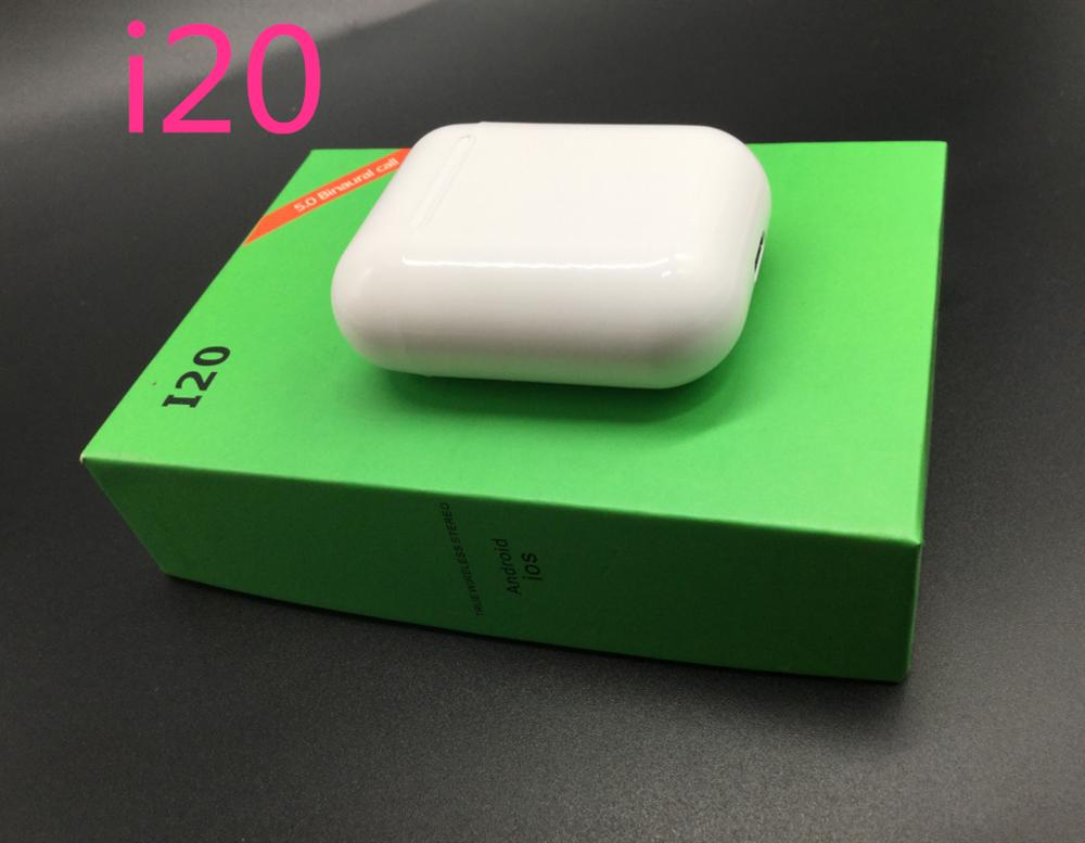 I20 Tws Original Pop Up Bluetooth Earphones Touch Control Mini Earbuds Headset Tws Pk I30 I20 I11 I7s I12