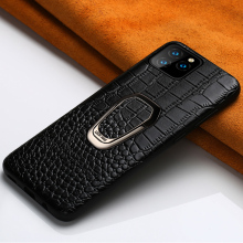 Genuine Leather phone case for iPhone 11 11 Pro 11 Pro Max X XS XS max XR 7 8 plus 6 6s 7 plus Magnetic Kickstand Luxury cover iphone case for iphone x xs xr xs max 8 7 6 6s plus iphone11 iphone11 pro iphone 11 pro max luxury square soft leather kickstand