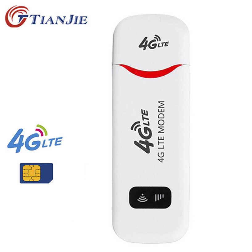 Tianji 3G WCDMA 4G FDD LTE USB مودم شبكة WiFi راوتر محول الشبكة دونغل جيب واي فاي هوت سبوت واي فاي الموجهات 4G مودم لاسلكي