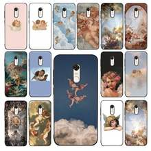 Lvtlv Lucu Renaissance Malaikat Bayi Diy Printing Phone Case Cover Shell untuk Redmi 5 Plus 6 6PRO 6A S2 4X7 7A 8 Case(China)