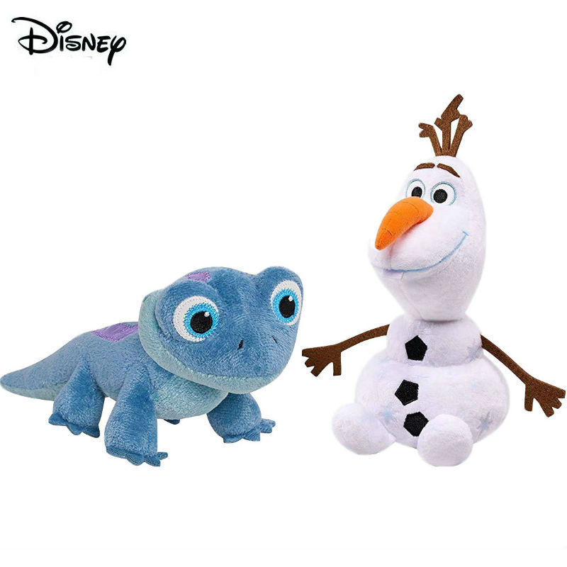 Hot Sale 2020 New Disney Frozen 2 Olaf Lizard Stuffed Plush Doll Party Decoration Action Figure Children Toy Kids Birthday Gift