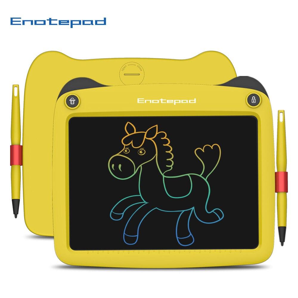 Enotepad 9 дюймов ЖК-дисплей цифровой блокнот портативная электронная графическая доска wacom Рисование почерк электронный