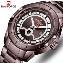 Luxury Brand NAVIFORCE Men Watches Analog Date Clock Quartz Watch Men Army Military Wristwatch Men Sport Wristwatches Relogio цена в Москве и Питере