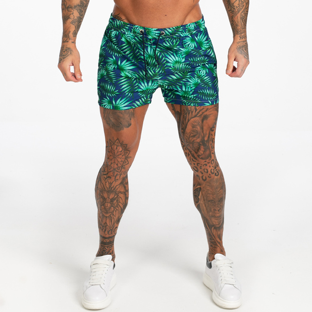 Mens Swim Trunks Mesh Lining Men Board Shorts with Pockets Swim Wear for Surfing, Swimming Summer Holiday Bathing Suits Fast Dry 2