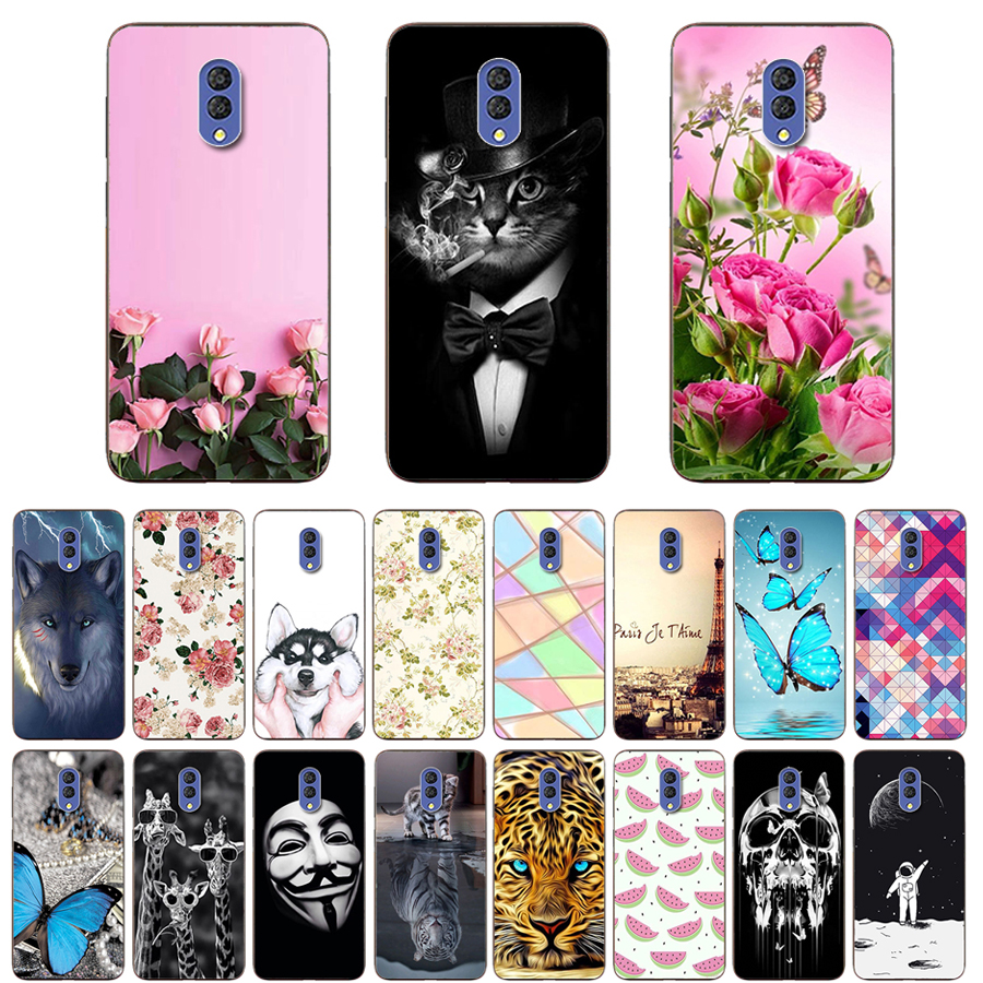 For <font><b>Alcatel</b></font> <font><b>1X</b></font> 2019 <font><b>Case</b></font> 5.5'' Fashion Soft TPU Cute Back <font><b>Cases</b></font> for <font><b>Alcatel</b></font> <font><b>1X</b></font> 1 X (2019) <font><b>Phone</b></font> Cover Protective Shells Coque image