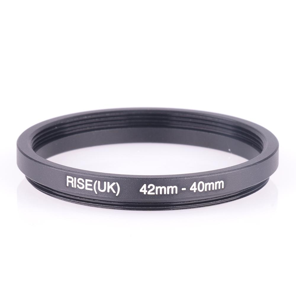 RISE(UK) 42mm-40mm 42-40 Mm 42 To 40 Step Down Filter Ring Adapter