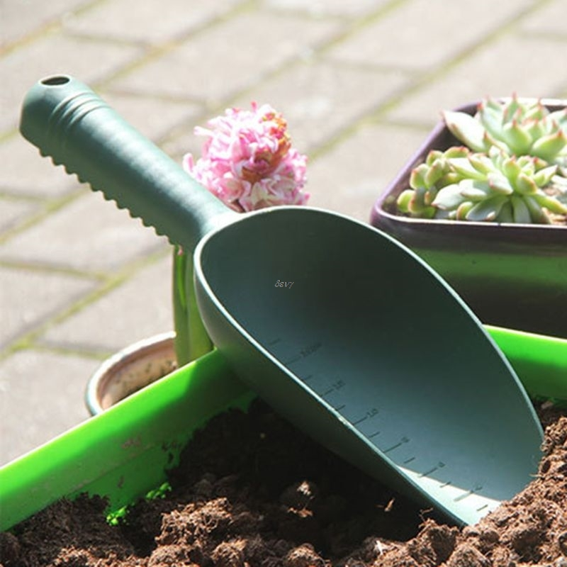 Home Gardening Tools Plastic Loose Soil Spade Plant Shovels Flowers Vegetable Planting Weeding Sowing Sturdy Anti Slip Handle