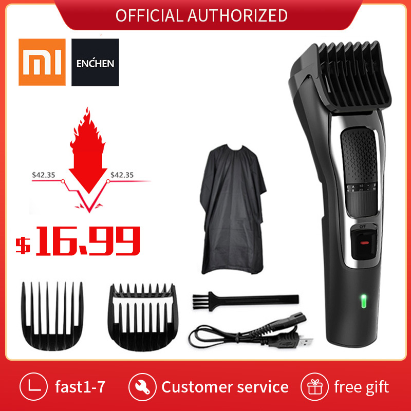 Xiaomi ENCHEN Barber Electric Hair Clipper Professional Hair Trimmer For Men Cordless Trimmer Beard Cutting Machine Hair Cut