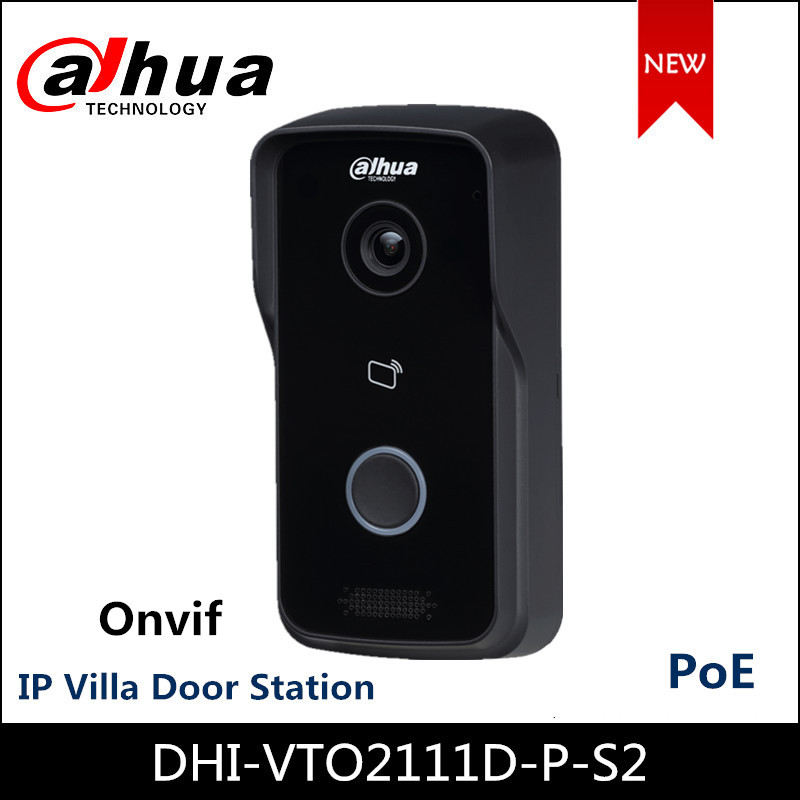 Dahua VTO2111D-P-S2 IP Villa Door Station Supports Two-way Voice Call PoE Control Two Locks