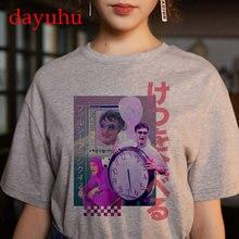 aesthetic t shirt vaporwave Michelangelo women fashion harajuku tshirt Casual korean style Graphic hip hop t-shirt female y2k