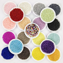 цена на 2000pcs/bag Have Hole ABS Imitation Pearl Beads 3/6/8mm Round Shape Plastic Acrylic Spacer Bead for DIY Jewelry Making Findings