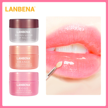 Lanbena Lip Plumper Lip Mask Moisturizing Lip Scrub Lip Oil Pink Lips Balm Nourish Lips Mask Lip Exfoliator Sleeping Masks Cream